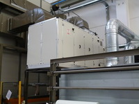 Industrial dehumidifiers - marble processing