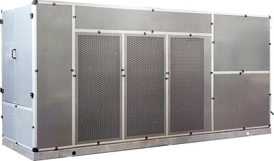 Industrial dehumidifiers - paint booth